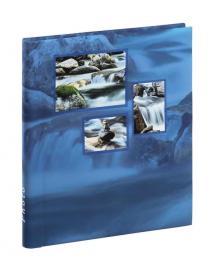 Singo Album Selvklebende Blå (20 Hvite sider / 10 blad)