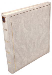 Henzo Basic Line Hvit - 28x30 cm (70 Hvite Sider / 35 Ark)