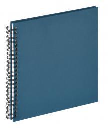 Fun Spiralalbum Blå - 30x30 cm (50 Hvite sider / 25 ark)