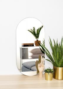 KAILA Speil Oval 35x70 cm