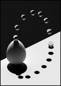 Arch Drops Egg Plakat