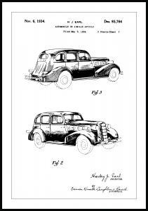 Patenttegning - La Salle II - Poster