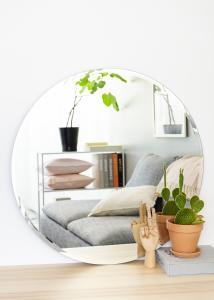 KAILA Rundt Speil Deluxe 80 cm Ø