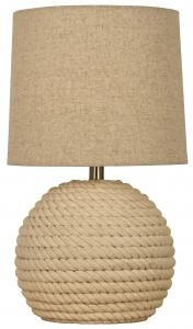 Bordlampe Sisal - Naturhvit