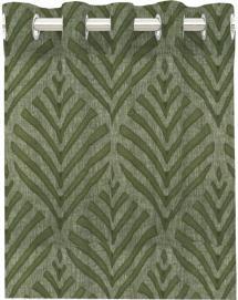 Gardin Med Seilringer Leroy - Grønn 2-pakk