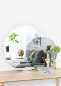 Speil Clear & Warm Grey 80x100 cm
