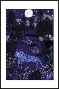 Night Tigers Plakat