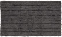 Baderomsmatte Stripe - Askegrå 60x100 cm