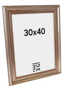 Rokoko Sølv 30x40 cm