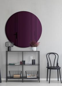 Speil Slim Purple 70 cm Ø