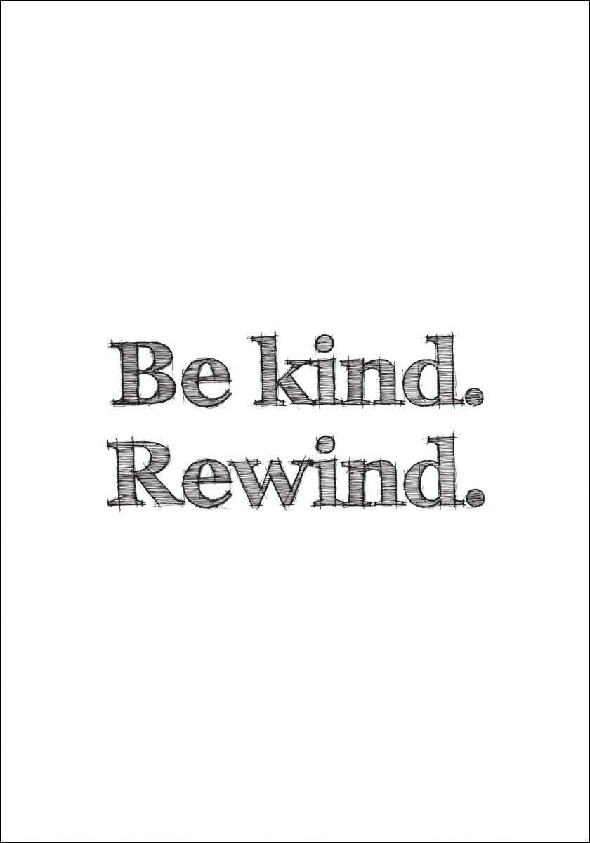 Be kind Rewind - Poster