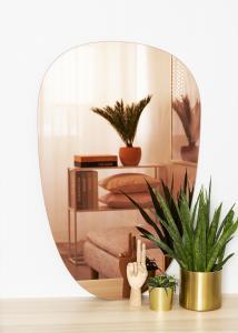 KAILA Speil Shape II Rose Gold 64x100 cm