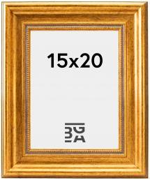 Ramme Rokoko Gull 15x20 cm
