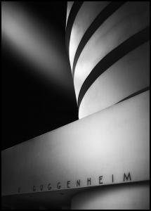 The Guggenheim Museum Plakat