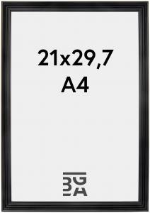 Verona Svart 21x29,7 cm (A4)