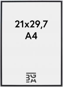 Ramme Visby Akrylglass Svart 21x29,7 cm (A4)