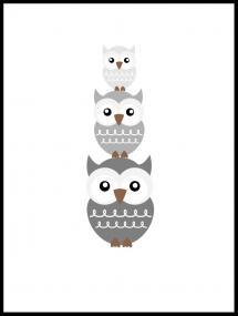 Ugle Trio - Tåkegrå