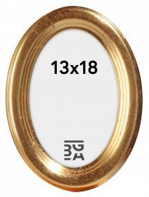 Molly Oval Gull 13x18 cm