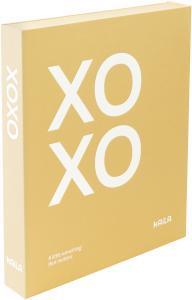 KAILA XOXO Yellow - Coffee Table Photo Album (60 Svarte Sider / 30 Ark)
