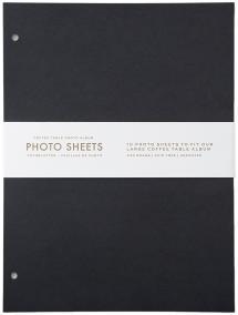 Refill Sheets - Coffee Table Photo Album 10 pcs (L)