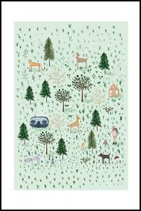 Tiny Forest Plakat