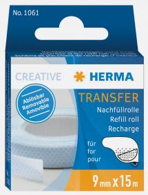 Herma Glue refill Transfer removable - 15 m