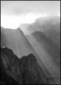 Shadow On Mountains Plakat