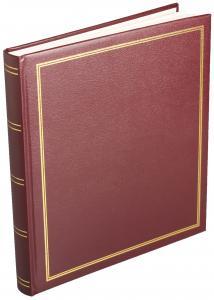 Diamant Album Selvklebende Rød - 29x32 cm (40 Sider)