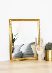 Speil Nost Gull 30x40 cm