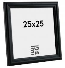 Siljan Svart 8C 25x25 cm