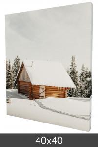 Canvasbillede 40×40 cm - 18 mm