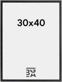 Ramme Galant Akrylglass Svart 30x40 cm