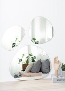 Speil Set Clear - 3 st