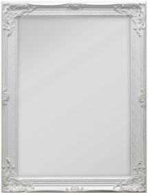 Speil Antique Hvit 50x70 cm