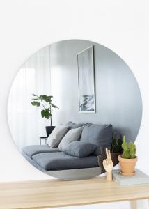 KAILA Rundt Speil Smoked Grey 110 cm Ø