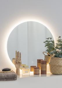 KAILA Speil Frost LED 60 cm Ø