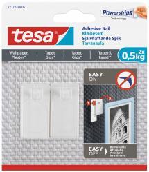 Tesa - Selvheftende spiker til alle typer vegger (maks 2x0,5kg)