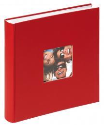 Fun Rød - 30x30 cm (100 Hvite sider / 50 Ark)