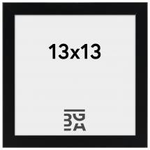Edsbyn Svart 2E 13x13 cm