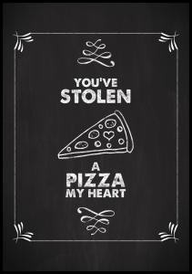 You´ve stolen a pizza