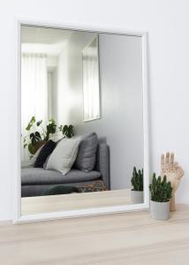 Speil Nost Hvit 50x70 cm