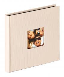 Fun Album Sand - 18x18 cm (30 Svarte Sider / 15 ark)