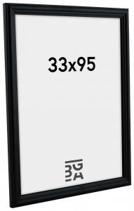 Siljan Svart 8C 33x95 cm