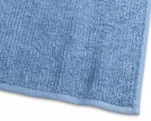 Gjestehåndkle Stripe Frotté - Blå 30x50 cm