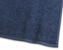 Håndkle Stripe Frotté - Marineblå 50x70 cm