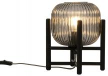 Bordlampe Vinda Liten - Svart/Røyk