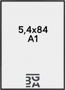 Nielsen Premium Alpha Blank Svart 59,4x84 cm (A1)