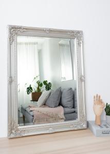 Speil Antique Sølv 50x70 cm