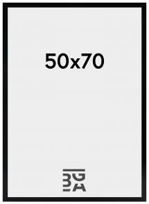 Amanda Box Svart 50x70 cm