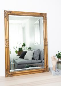 Speil Bologna Gull 60x90 cm